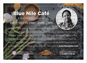 Chef Salem Fikru of Blue Nile Café Biography