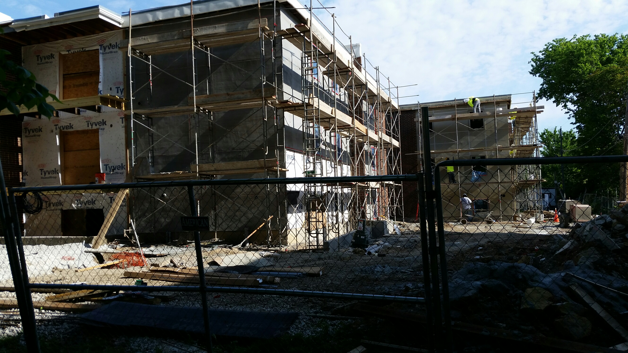 Pendleton Flats in construction (IMAGE 2)
